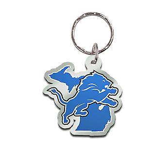 Wincraft STATE Keychain - NFL Detroit Lions