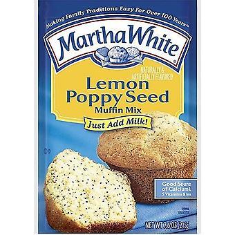 Martha witte citroen Poppy zaad muffin mix