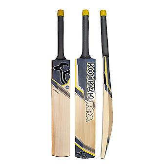 Kookaburra 2019 Nickel 2.0 English Willow Cricket Bat Black/Yellow -Short Handle