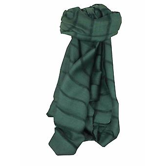 Mens Vietnamese Long Silk Scarf Hue Slate by Pashmina & Silk