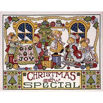 Christmas Is Sew Special Counted Cross Stitch Kit 11