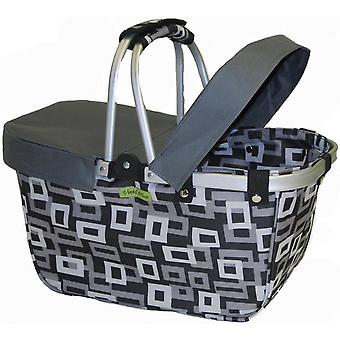 Janetbasket Grey Large Basket Cover Grey Nbc002
