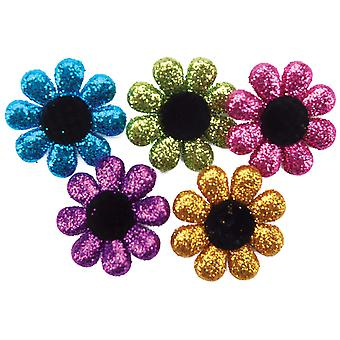 Dress It Up Embellishments Glitter Flowers Diubtn 4423