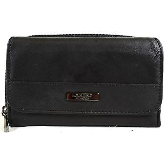Ladies Super Soft Nappa Leather Bi-Fold Matinee Purse
