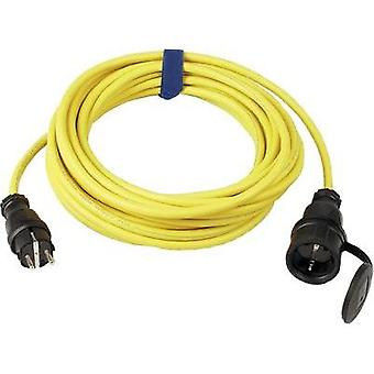 Current Extension cable [ PG rubber plug - PG rubber connector] Yellow 10 m SIROX 644.110.05