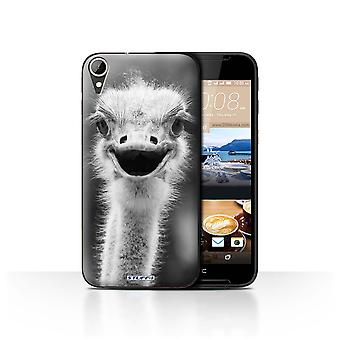 STUFF4 Case/Cover for HTC Desire 830/Ostrich/Emu/Mono Zoo Animals