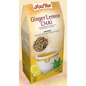 Yogi Tea Ginger Limon Chai Te (Dietetics and nutrition , Vitality)
