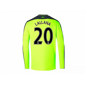 2016-17 Liverpool Third Long Sleeve Shirt (Lallana 20)