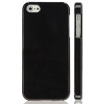 TPU gummidekselet for iPhone 5 (svart)