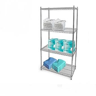 4 Tier Hygienic Shelving Kit (1700h x 600w x 450d mm)