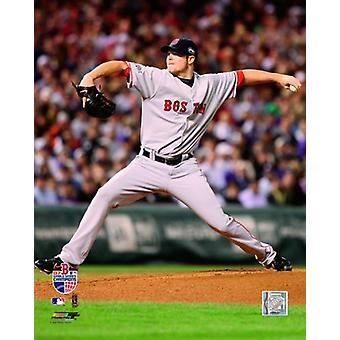 Jon Lester 07 World Series Spiel 4