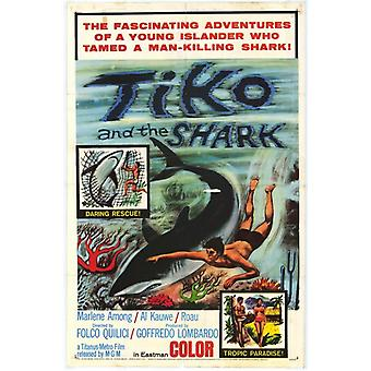 Tiko and the Shark Movie Poster (11 x 17)