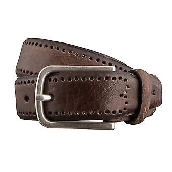 BRAX belts men's belts leather belt dark brown 3052