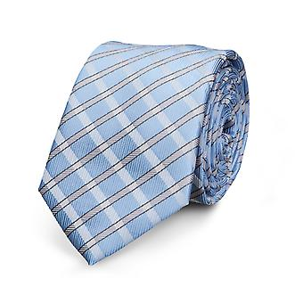 Frédéric Thomass mens tie classic striped neckties blue