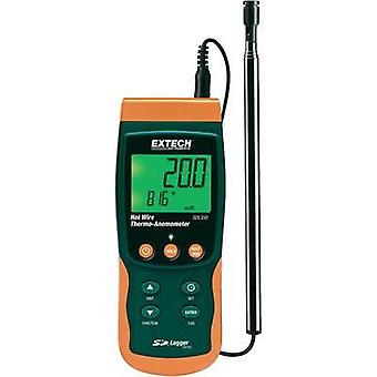 Anemometer Extech SDL350 0.4 up to 25 m/s Calibrated to Manufacturer standards