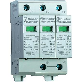 Finder 7P.23.8.275.1020 Surge Arrester, Surge Protection Device (SPD), 3-Phase