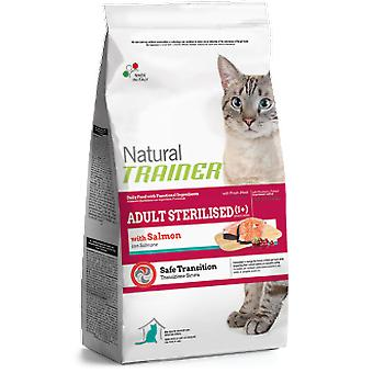 Trainer Natural Adult Esterilised con Salmón (Gatos , Comida , Pienso)