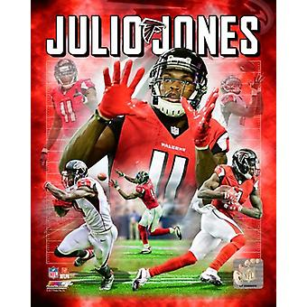 Julio Jones 2017 portret Plus Photo Print