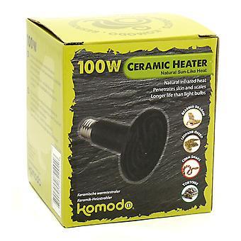 Komodo keramisk varme Emitter sort 100w