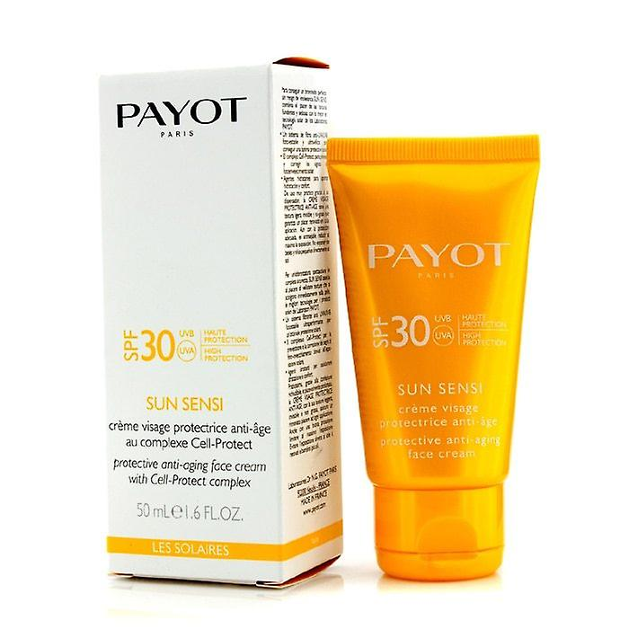 Payot Les Solaires Sun Sensi - Protective Anti-Aging Face Cream SPF 30 50ml/1.6oz