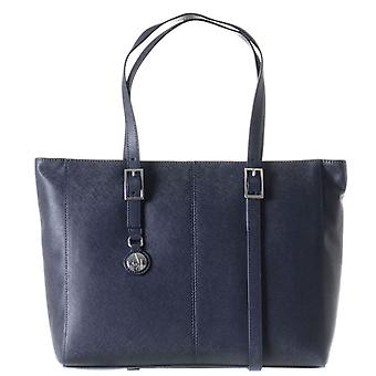 Armani AJ Jeans Large Ladies Shoulder B521C U8 Navy Blue Bag