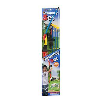 Barn gåva leksak Bow & pilen bågskytte Set med Infra röd räckvidd för exakt syfte