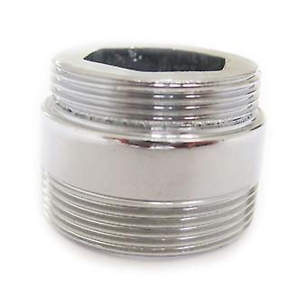 Metallo solido adattatore per rubinetto della cucina di risparmio idrico aeratore 22mm a 24mm
