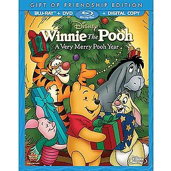 Winnie the Pooh - Very Merry Pooh Year Special Edition [BLU-RAY] USA import