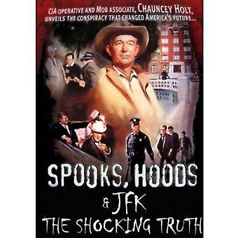 Spooks emhætter & JFK: Den chokerende sandhed [DVD] USA importerer