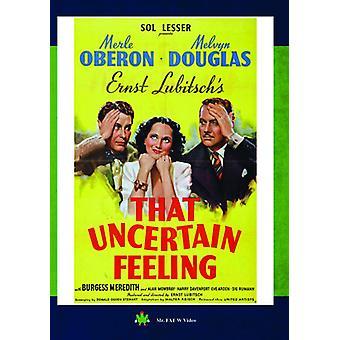 Die onzekere gevoel [DVD] USA import