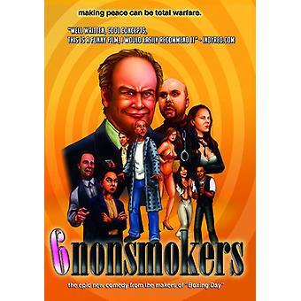 6 ikke rygere [DVD] USA importerer