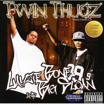 Thug Twinz - Layzie knogle & Big Sloan [CD] USA importerer