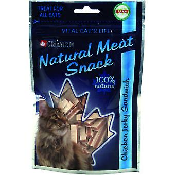 Ontario Cat Snack Chicken Jerky Sandwich 70g (Cats , Treats , Eco Products)