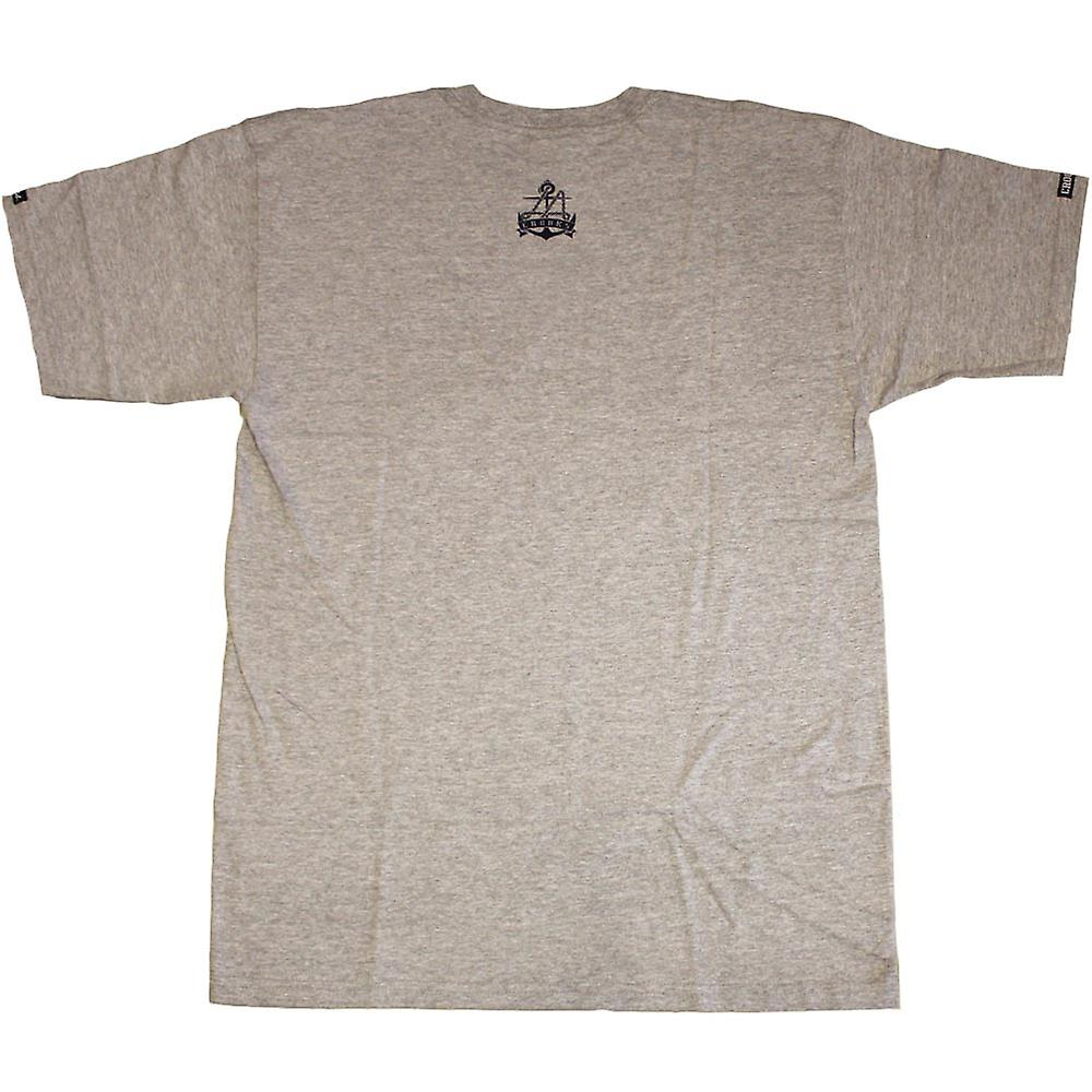 Oplichters & kastelen golvende T-Shirt Heather Grey