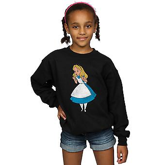 Disney Girls Alice In Wonderland Classic Alice Sweatshirt