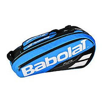 Babolat pure drive Racquet of holder x 12 clubs bag blue, white