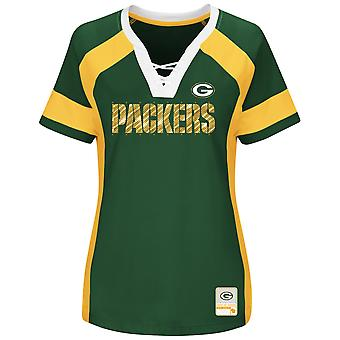 Maestoso progetto ME Raglan top - Green Bay Packers Green