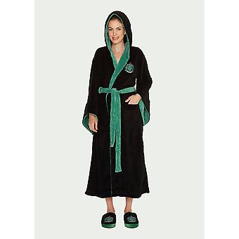 Official Harry Potter Slytherin Women's Dressing Gown / Bathrobe