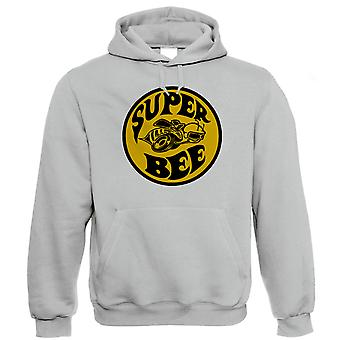 Vectorbomb, Super Bee, Mens American Muscle Car Hoodie (S to 5XL)