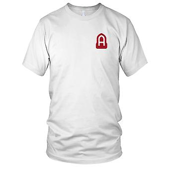 US Army - 14th Fictional Field Army Embroidered Patch - WWII Mens T Shirt