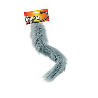 Animal Tail. Grey