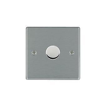 Hamilton Litestat Hartland Satin Stainless 1g 100W LED Dimmer SS
