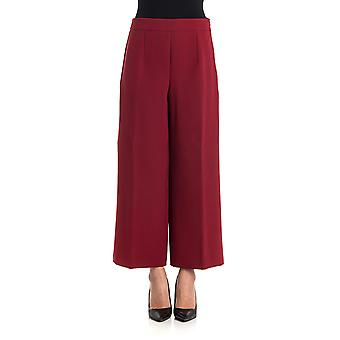 Blugirl ladies 4586113 Bordeaux red polyester pants