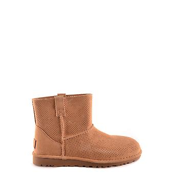 Ugg women's MCBI303039O beige Suede Ankle Boots