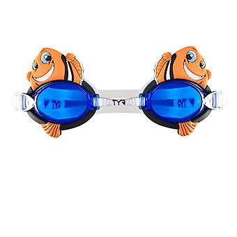TYR happy fish kids swim goggles