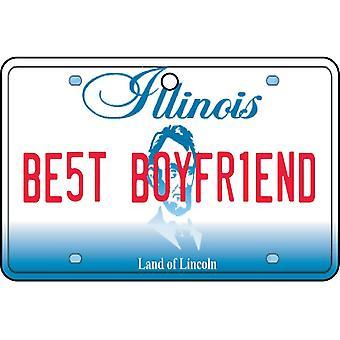 Illinois - beste vriendje kenteken auto luchtverfrisser