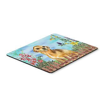 Carolines Treasures  CK1220MP Chihuahua Spring Mouse Pad, Hot Pad or Trivet