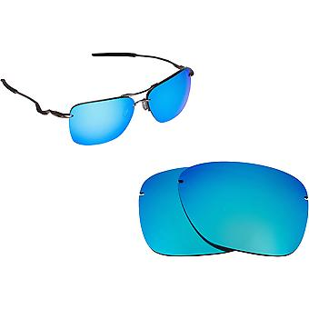 Tailhook Carbon Replacement Lenses Polarized Blue by SEEK fits OAKLEY Sunglasses
