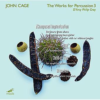 Philip Gray - bur: Værker for slagtøj 3 [CD] USA import