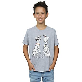 Disney Boys 101 Dalmatians Classic Pongo And Perdita T-Shirt